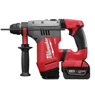 M18 FUEL 18-Volt Lithium-Ion Brushless 1-1/8 in. SDS-Plus Rotary Hammer Kit