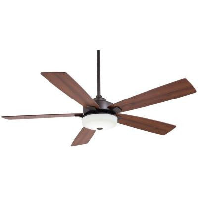 Cameron 54 in. LED Oil Rubbed Bronze Ceiling Fan