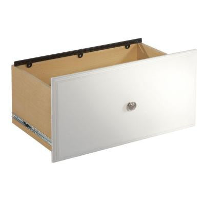 12 in. Classic White File Drawer