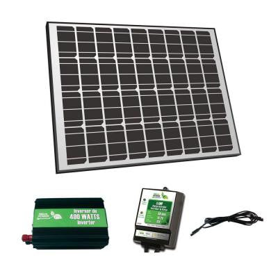 85-Watt Solar Panel Off-Grid Charger Kit