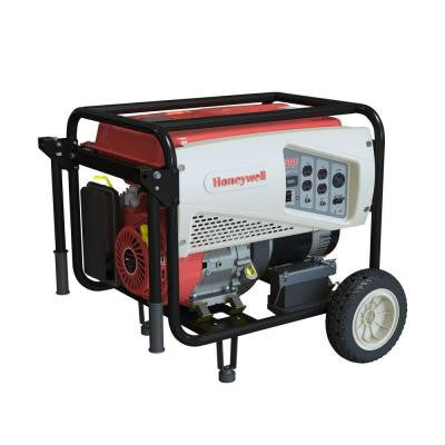7,500-Watt Gas Powered Electric Start Portable Generator