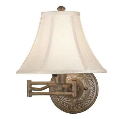 Amherst Nutmeg Wall Swing Arm Lamp