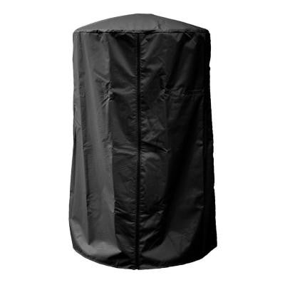 38 in. Heavy Duty Black Portable Patio Heater Cover