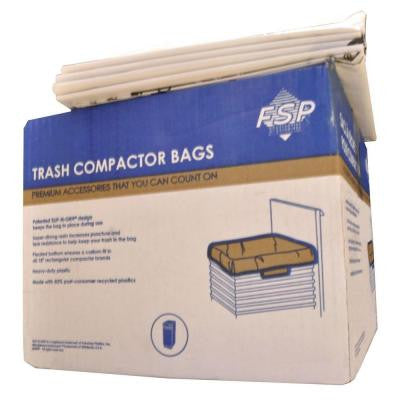 18 in. Plastic Compactor Bags (60-Pack)