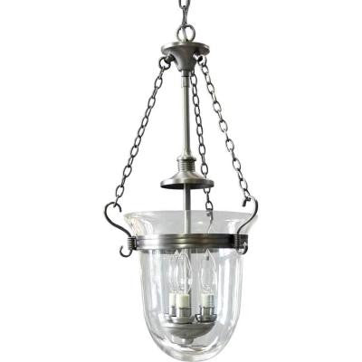 Essex Collection 3-Light Antique Nickel Foyer Pendant