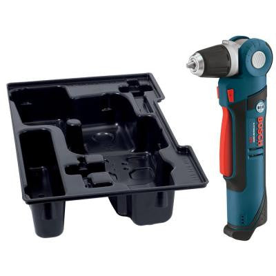 12-Volt Max Lithium-Ion 3/8 in. Right Angle Drill/Driver with Exact Fit Insert Tray (Bare Tool)
