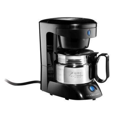 4-Cup Coffee Maker Stainless Steel
