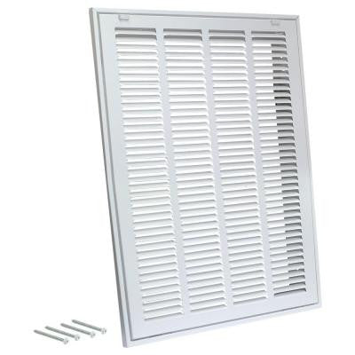 10 in. x 10 in. Steel Return Filter Grille