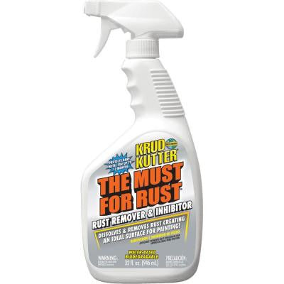 The Must for Rust 32 oz. Rust Remover and Inhibitor