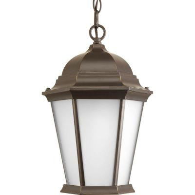 Welbourne Collection 1-Light Antique Bronze Hanging Lantern