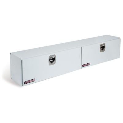 96.25 in. Aluminum High Side Box in Brite White