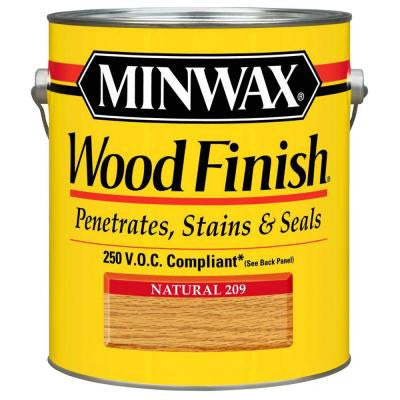 1 gal. Natural Wood Finish 250 VOC Oil-Based Interior Stain