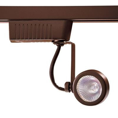 201 Series Low-Voltage MR16 Oil Rubbed Bronze Gimball Style Track Lighting Fixture