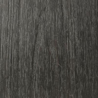 UltraShield Naturale Magellan Series 0.9 in. x 5.5 in. x 0.5 ft. Hollow Composite Deck Board Sample in Hawaiian Charcoal