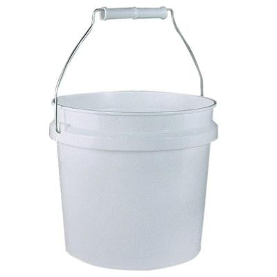 1-gal. Plastic White Pail (24-Pack)