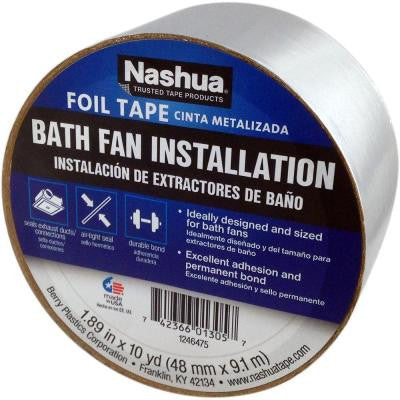 1.89 in. x 9.8 yds. Bath Fan Installation Tape