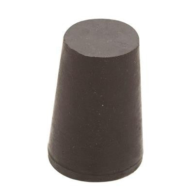 1-3/4 in. x 1-7/16 in. Black Rubber Stopper