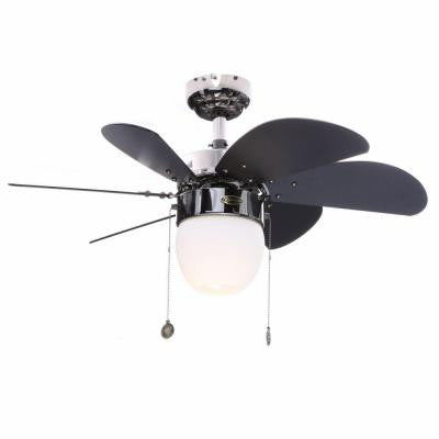 Turbo Swirl CFL 30 in. Gun Metal Ceiling Fan