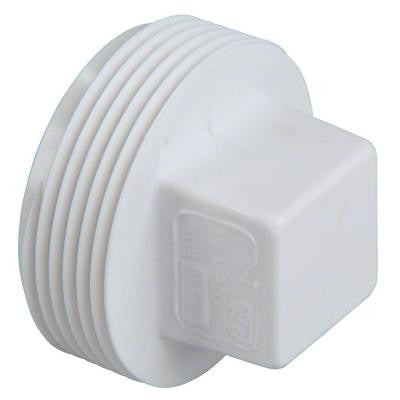 4 in. PVC DWV MIPT Cleanout Plug