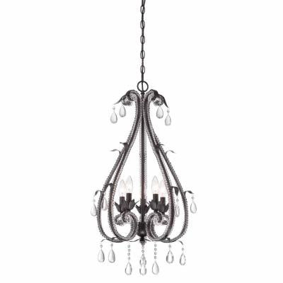 Signature 5-Light Oil Rubbed Bronze Hanging Chandelier