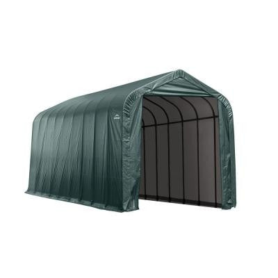 14 ft. x 24 ft. x 12 ft. Green Peak Shelter Without Floor