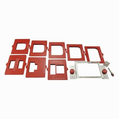 Complete Door Mortising Kit for Routers