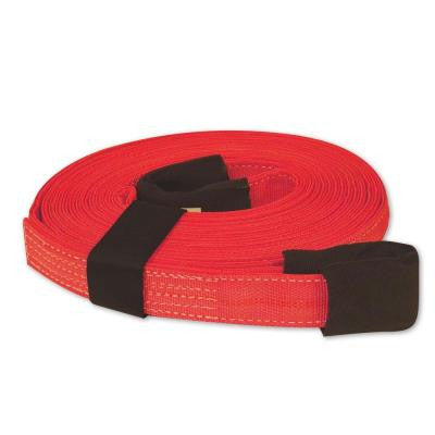 2 in. x 30 ft. Double Thick Red Tow Strap