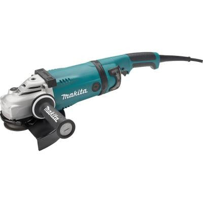 15 Amp 9 in. Angle Grinder with Lock-Off and No Lock-On Switch