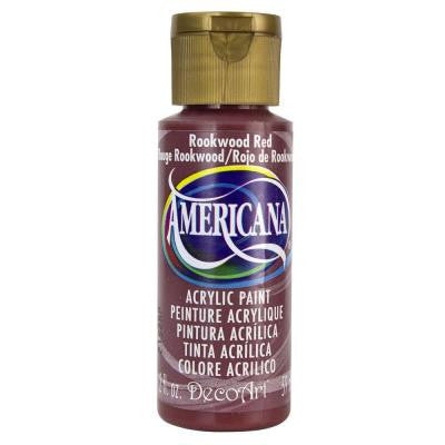 Americana 2 oz. Rookwood Red Acrylic Paint