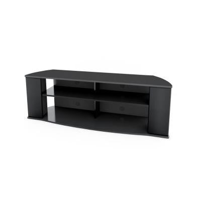 Essentials 60 in. TV Stand in Black