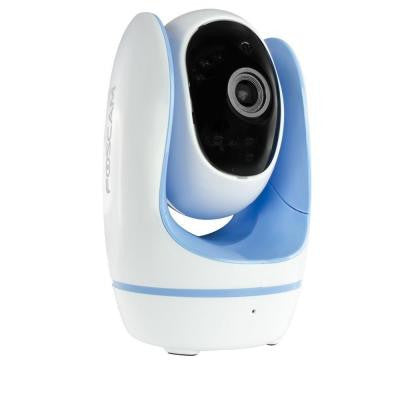 Fosbaby Digital Video Baby Monitor with HD 720P, Night Vision - Blue