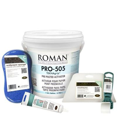 PRO-505 1-gal. Wallpaper Adhesive Kit for Small Sized Rooms