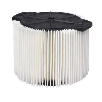 1-Layer Pleated Paper Filter for 3-4.5 Gal. Vac