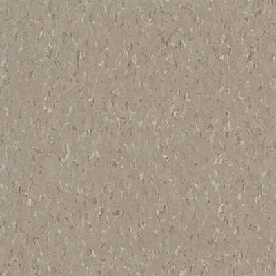 Imperial Texture VCT Earthstone Greige Standard Excelon Commercial Vinyl Tile - 6 in. x 6 in. Take Home Sample