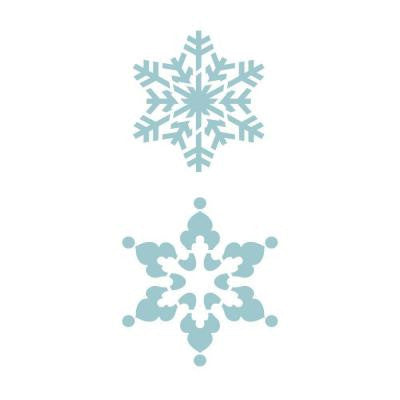 Winter Snowflakes Accent Stencil