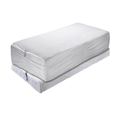 Bed Bug Protection Mattress and Box Spring Encasement Queen Size Set