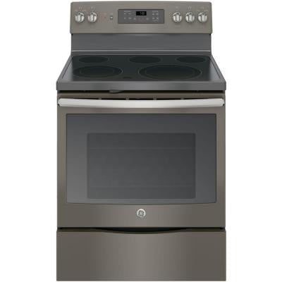 5.3 cu. ft. Electric Range with Self-Cleaning Convection Oven in Slate
