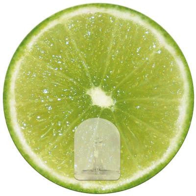 2.875 in. Lime Fruit Magic Hook Wall Graphic