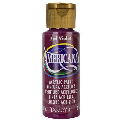 Americana 2 oz. Red Violet Acrylic Paint