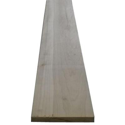 1 in. x 3 in. x Random Length Poplar Board