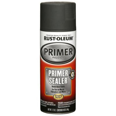 12 oz. Gray Matte Primer and Sealer (6-Pack)