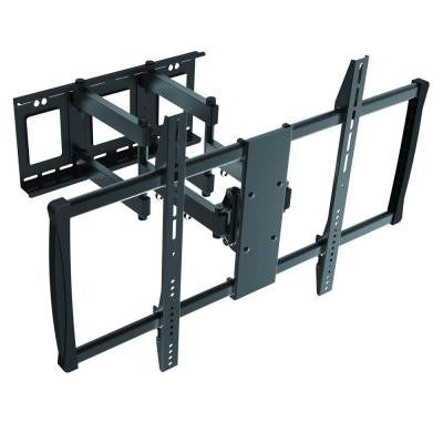 Low-Profile Full Motion TV Wall Mount for 60 in. - 100 in. Curved/Flat Panel TV's with 15 Degree Tilt, 176 lb. Capacity