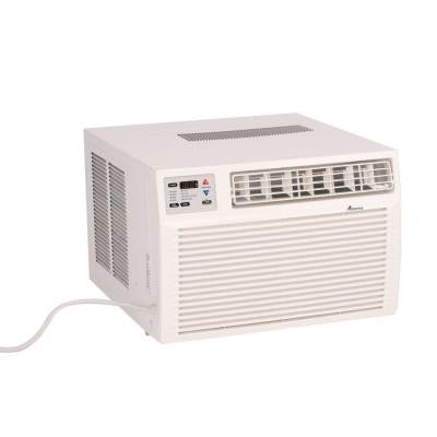 9,000 BTU R-410A Window Air Conditioner with 3.5 kW Electric Heat and Remote