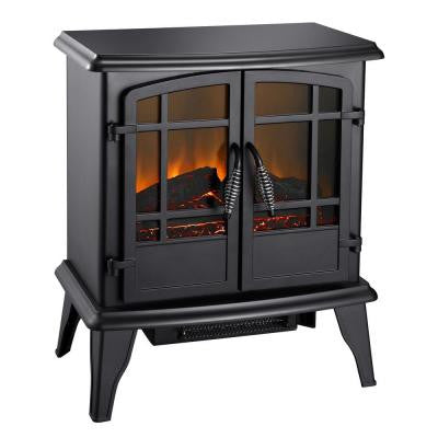 20 in. Electric Stove in Matte Black