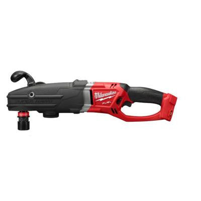 M18 FUEL 18-Volt Lithium-Ion Super Hawg 1/2 in. Right Angle Drill with QUIK-LOK (Tool-Only)