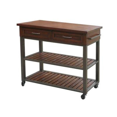 Wood Kitchen Utility Table