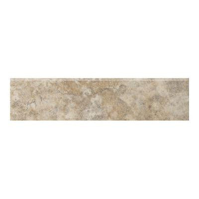 Campione 3 in. x 13 in. Sampras Porcelain Bullnose Floor and Wall Tile