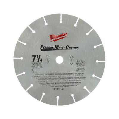 7-1/4 in. High Speed Steel Circular Saw Blade