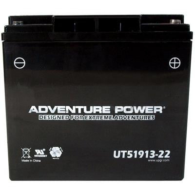 Sealed AGM 12-Volt 22 Ah Capacity IT Terminal Battery
