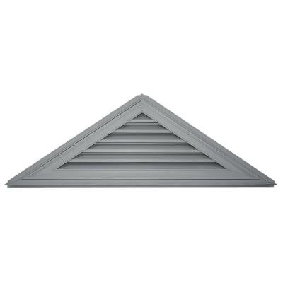 8/12 Triangle Gable Vent #030 Paintable